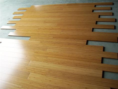 Modern bamboo laminate flooring of interior carbonized