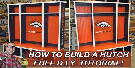 build  bedroom hutch  mudroom hutch  diy