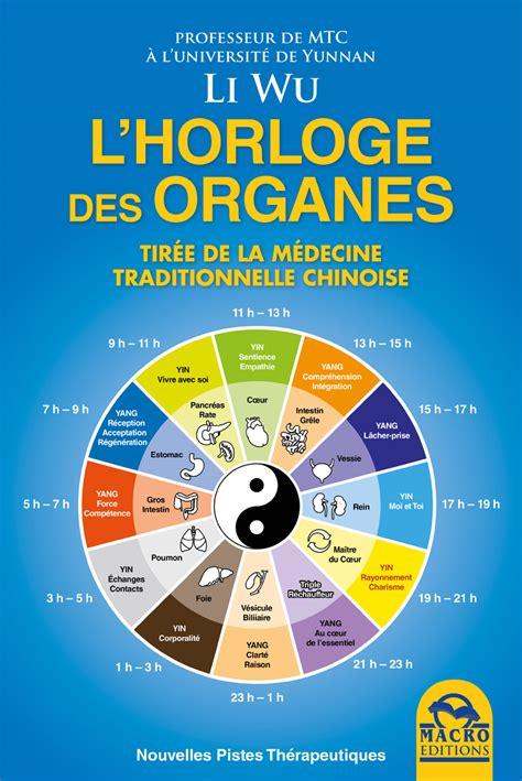 livre cuisine chinoise l 39 horologe des organes un livre de li wu