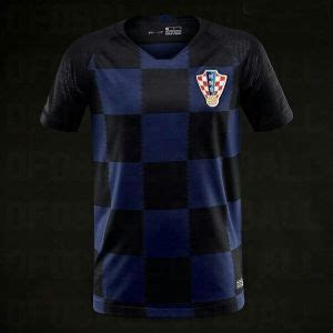 Croatia World Cup Away Jersey