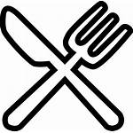 Icon Fork Spoon Svg Knife Icons Western