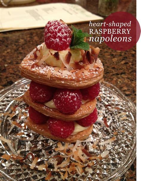 CookingThyme: Heart-shaped Raspberry Napoleons