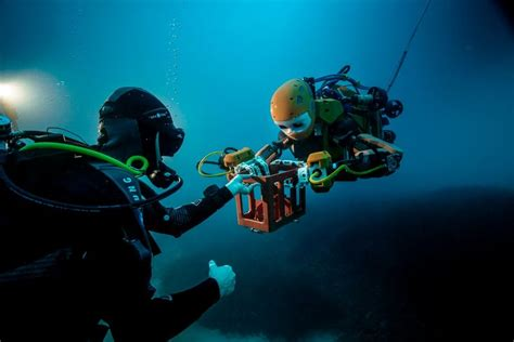 Underwater Exploration Robots