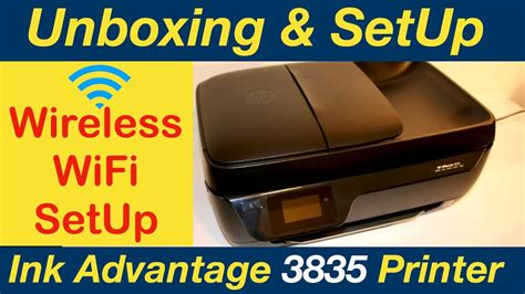 Hp officejet 3835 mobile printer is one of the printers from hp. HP OfficeJet Ink Advantage 3835 Wireless SetUp, Unboxing ...