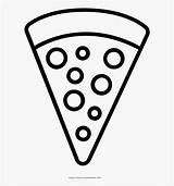 Pizza Coloring Pepperoni Clipart Dibujos Template Dibujar Clipartkey Facil Pngitem Transparent sketch template