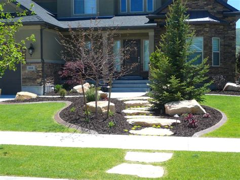 house  beautiful front yard    gorgeous landscaping ideas  front