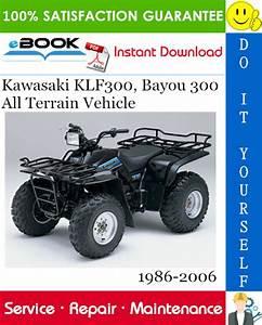 Best  U2606 U2606 Kawasaki Klf300  Bayou 300 All Terrain Vehicle