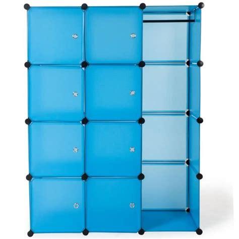 couleur de porte d armoire de cuisine armoire penderie rangement dressing bleu achat vente dressing pas cher couleur et design fr