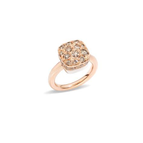nudo pomellato ring pomellato ring nudo solitaire in pink gold lionel meylan