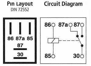 5 wire relay wiring diagram light 5 wire trunk relay With nissan 5 pin relay