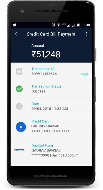 sbi credit card payment   bank account   easy steps