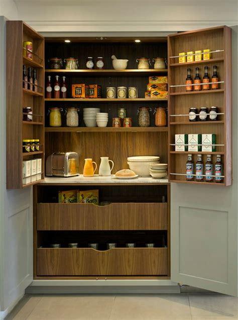 kitchen larder storage how to save space with door mounted storage 2124