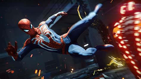 Spider-man For Playstation 4 Showcases Insane
