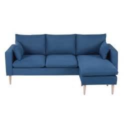 canape en tissu canapé tissu bleu