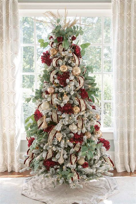christmas tree  artificial flowers christmas