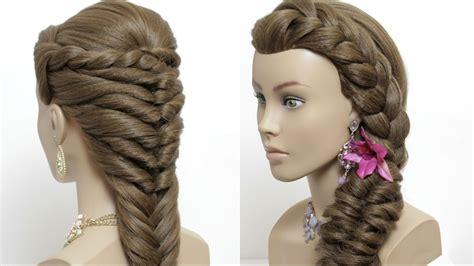 easy hairstyles  long hair tutorial cute summer