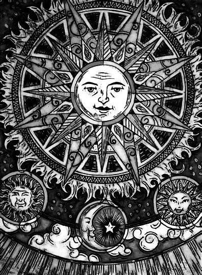 """""""Sun and Moon Harmony"""" Artist: Audrey Kitching at audrey"""