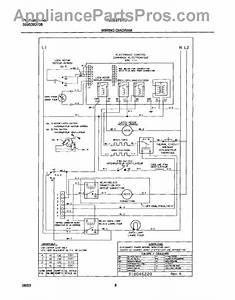 Parts For Frigidaire Gleb27s7cbb  Wiring Diagram Parts