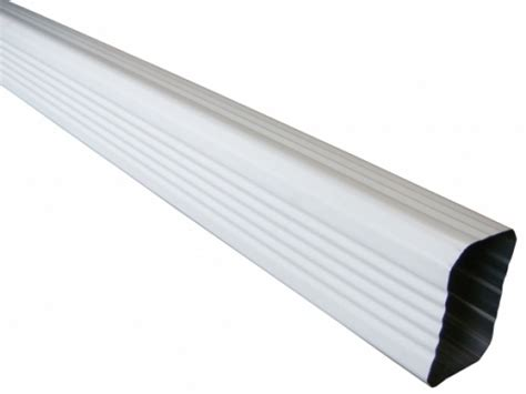 corrugated drain pipe aluminum downspouts metal downpipes gutter supply