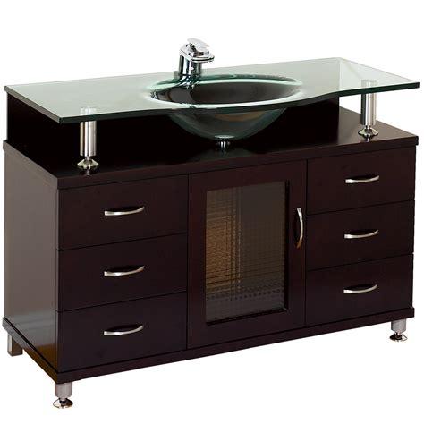 accara  bathroom vanity  drawers espresso