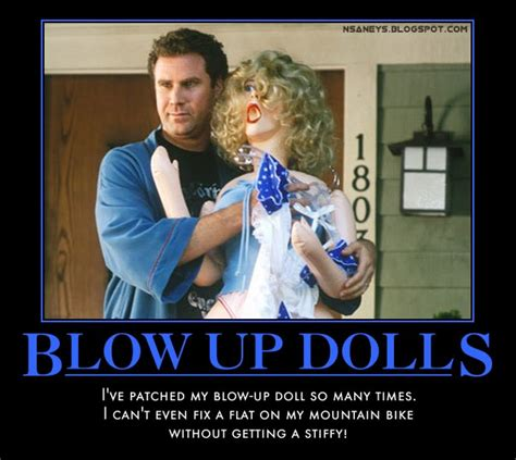 Blow Up Doll Meme - nsaney s motivational posters will ferrell nurse or cheerleader blow up doll