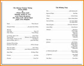search results for sle of wedding program calendar 2015
