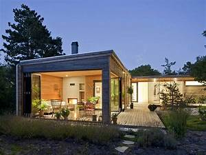 Modern Small House Plans Small Contemporary Home Modern ...