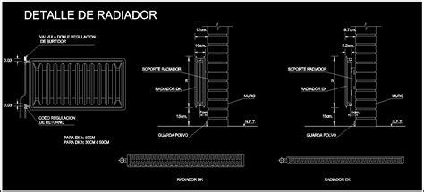 radiators details dwg detail for autocad designs cad