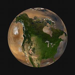 How Big Is North America Compared To Mars - Business Insider