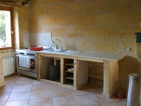 cuisine bois naturel et le bois ébénisterie éco conçue