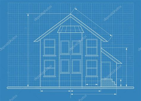 Techniczny Rysunku Projekt Domu