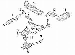 2012 Volkswagen Jetta Shield  Heat   Rear   Liter  Exhaust  Partqualifier - 5k7825711