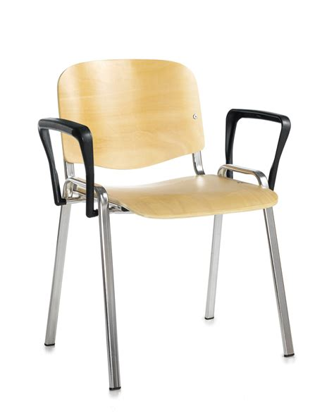 taurus wooden chair chrome frame stacking chair with fixed