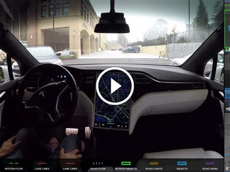 Tesla Releases Video Demonstrating What Self-driving Cars