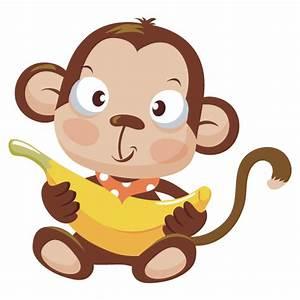 Baby Monkey Cartoon - Cliparts.co
