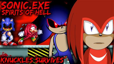 sonic exe spirits of hell demo knuckles survives choice ending