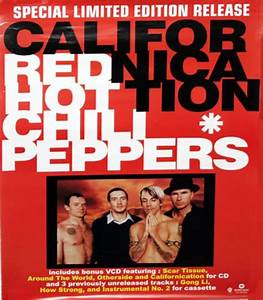 Red Hot Chili Peppers Californication Philippino Promo ...