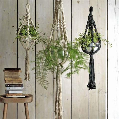 decorative plant hangers indoor macrame plant hangers decorative home accessories