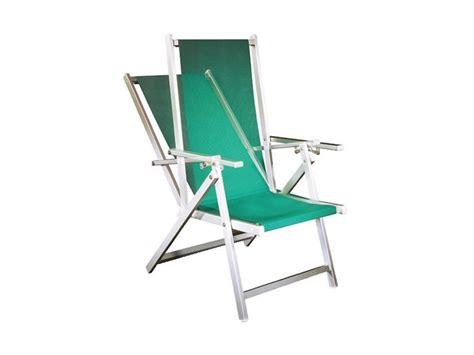 Sdraio Spiaggia Alluminio Marinella