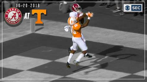 alabama  tennessee  tua tosses  touchdowns cbs sports youtube