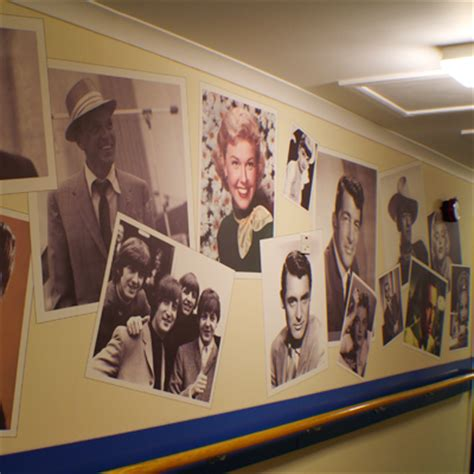 nostalgic wall art posters recogneyes care home