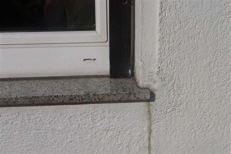 silikonfugen selber machen granit fensterbank einbauen anleitung fensterbank