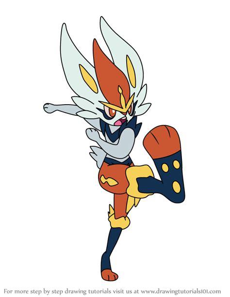 learn   draw cinderace  pokemon pokemon step