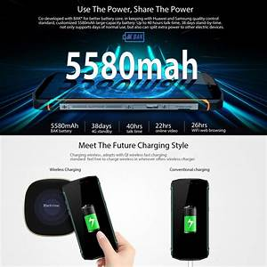 Recharge Telephone Sans Fil : smartphone incassable android 8 1 recharge sans fil 5 5 pouces 4g jaune ~ Dallasstarsshop.com Idées de Décoration