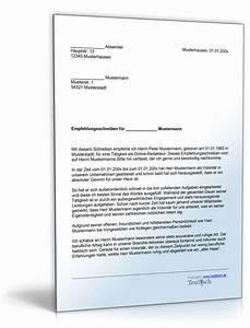 Einverständniserklärung Nachbarn Muster Textvorlage : empfehlung eines volont rs muster vorlage zum download ~ Themetempest.com Abrechnung