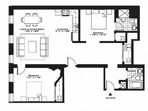 exquisite luxury 2 bedroom apartment floor plans on With plan for two bedroom flat