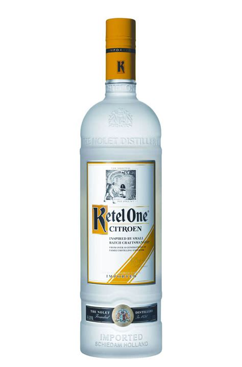 Citroen Vodka by Ketel One Citroen Vodka