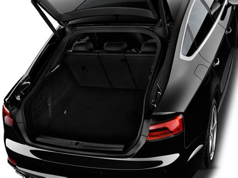 image  audi  sportback  tfsi premium trunk size
