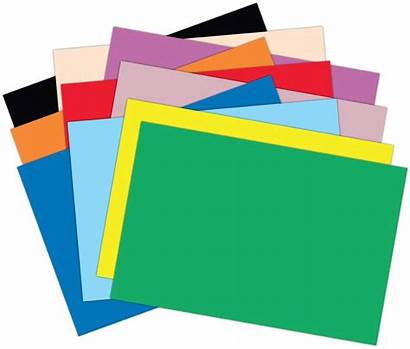 Paper Clipart Colored Stack Papers Construction Projects