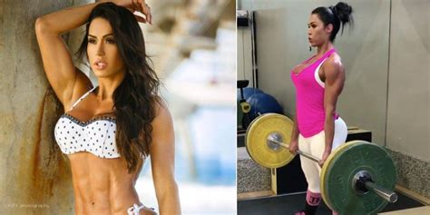 fitness model gracyanne barbosa tricking   fake